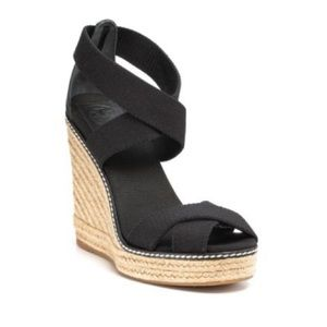 Tory Burch Adonis Wedge Espadrille Size 6